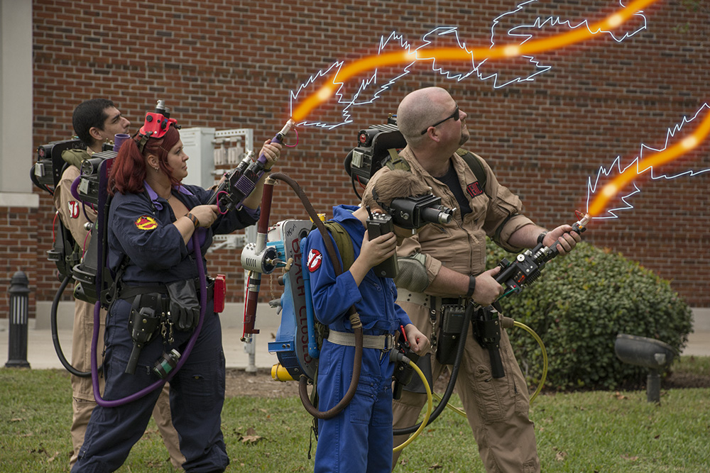Suncoast Ghostbusters at City Hall
