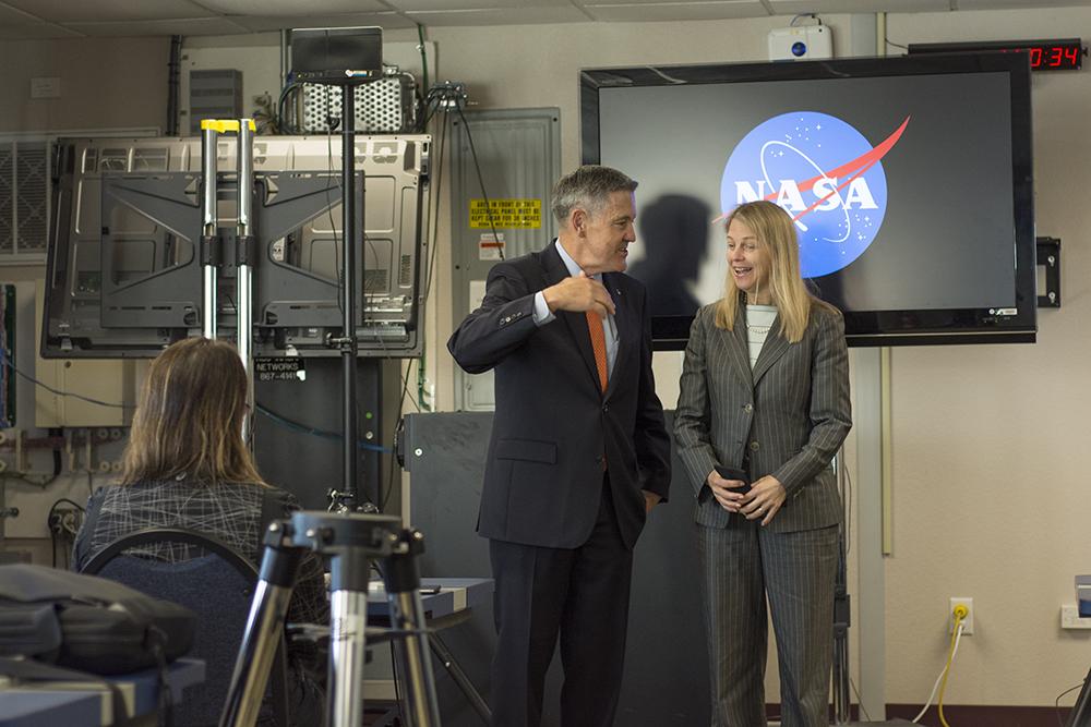 NASA Social Dava Newman & Bob Cabana
