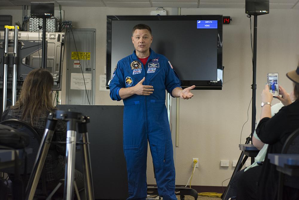 NASA Social Doug Wheelock