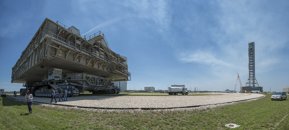 NASA Crawler Pano