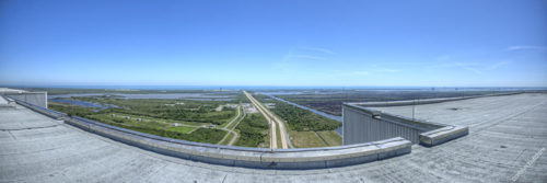 Vehicle Assembly Building Roof