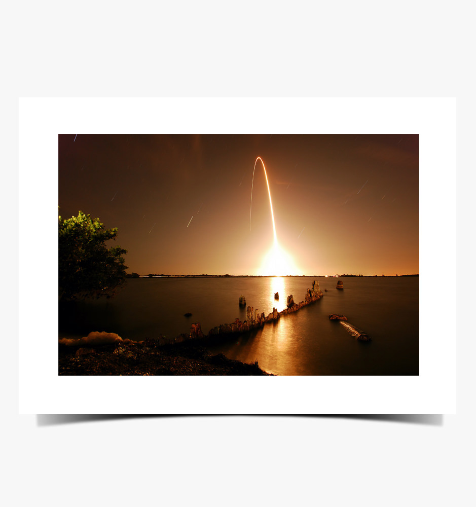 Print 1008 - Atlas V Rocket Launch, March 2015