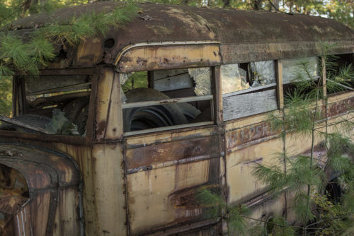 Old Bus - WV