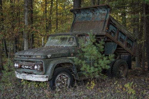 Old Dump Truck - WV