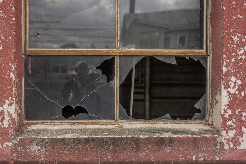 Broken Window - WV