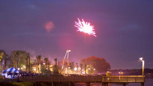 Fireworks - Kissimmee Lakefront
