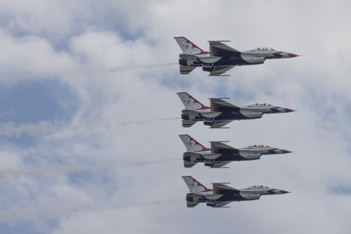 Thunderbirds - Melbourne Air Show
