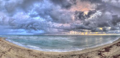 Stormy Sunrise Hutchinson Island
