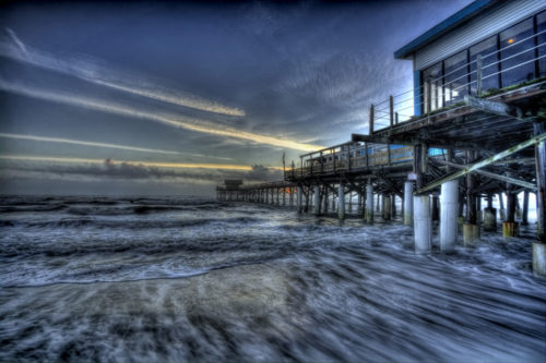 Cocoa Beach Pier Sunrise