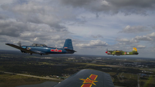Red Star Pilots at Lakeland, FL 2018