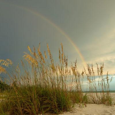 Anna Maria Island Beach Rainbow – Nikon D500 & Tamron 15-30 G2
