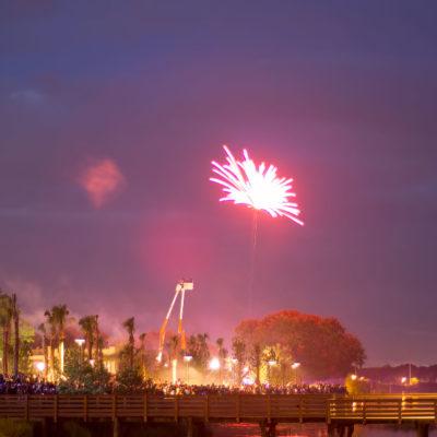 Fireworks Kissimmee Lakefront – Nikon D7100