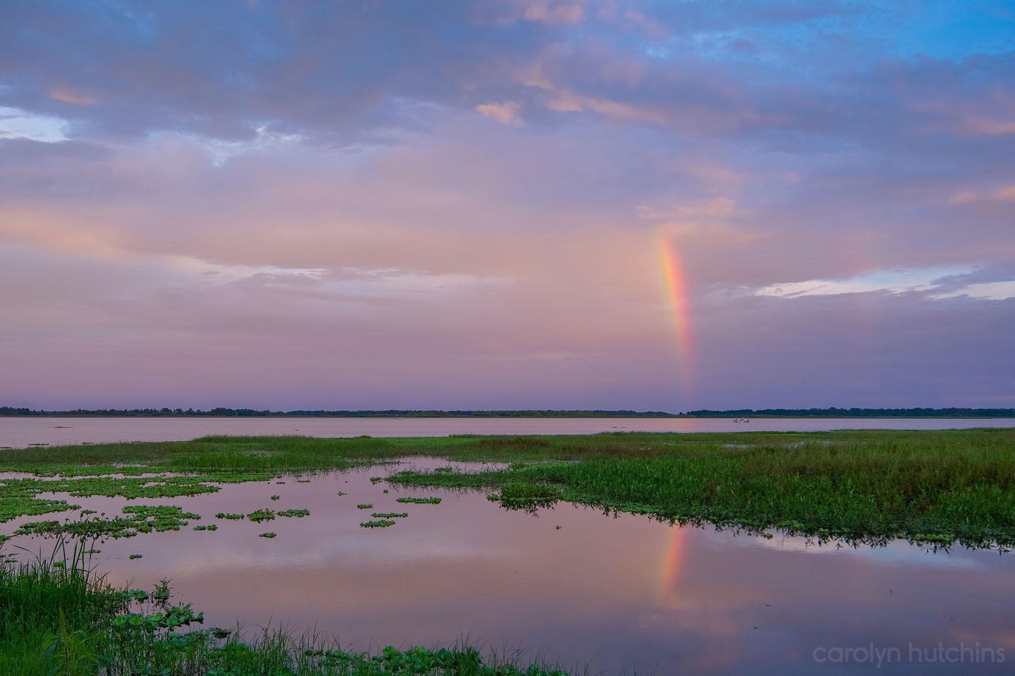 Kissimmee Lakefront Sunset Rainbow – Nikon D500 & Tamron 15-30 G2