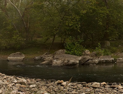 South Branch River Panorama – Nikon D7100