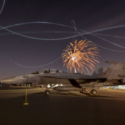 Fireworks at Sun 'n Fun  – Nikon D7100