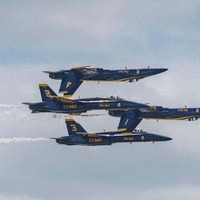 Blue Angels – Nikon D500 & Tamron 150-600