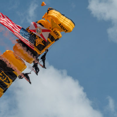 US Army Golden Knights – Nikon D500 & Tamron 150-600