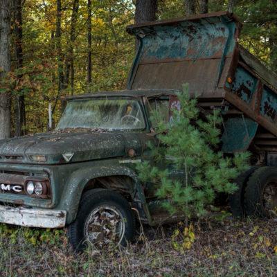 Old Dump Truck – Nikon D7100
